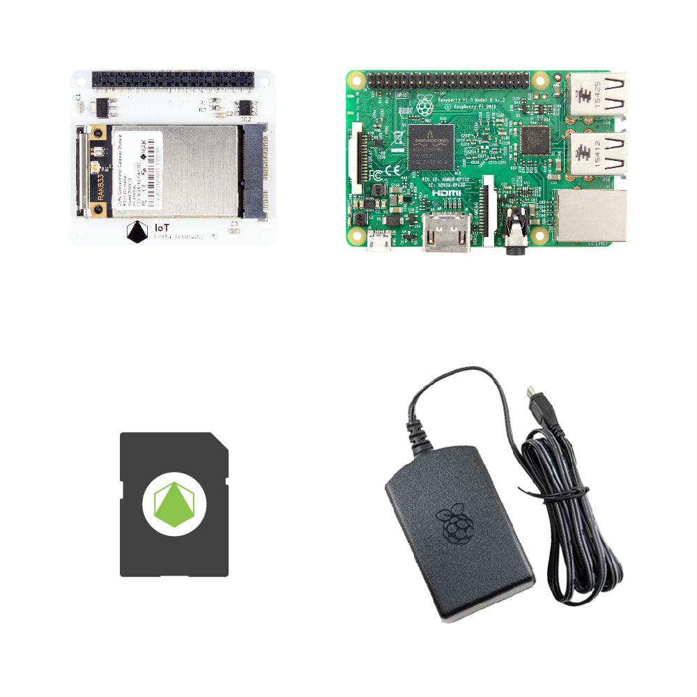 IoT LoRa Gateway HAT Starter Kit for Raspberry Pi