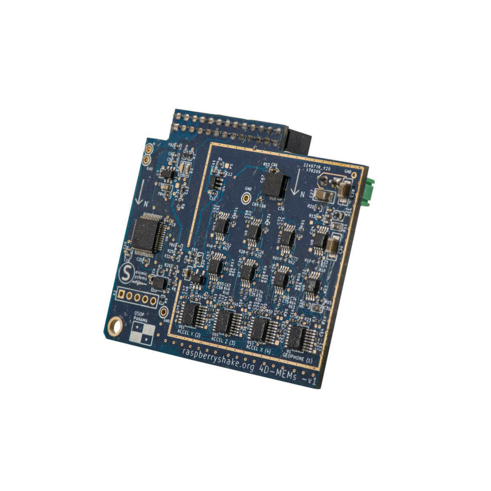 IoT Home Earthquake Monitor (Board Only) | RS 4D