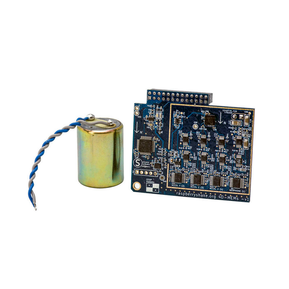 IoT Home Earthquake Monitor (Board & Sensors Only) | RS 4D