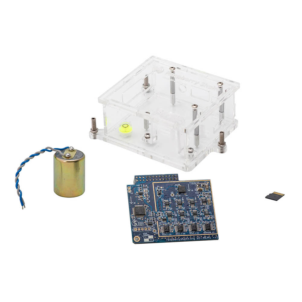 IoT Home Earthquake Monitor (without RPi) | RS 4D