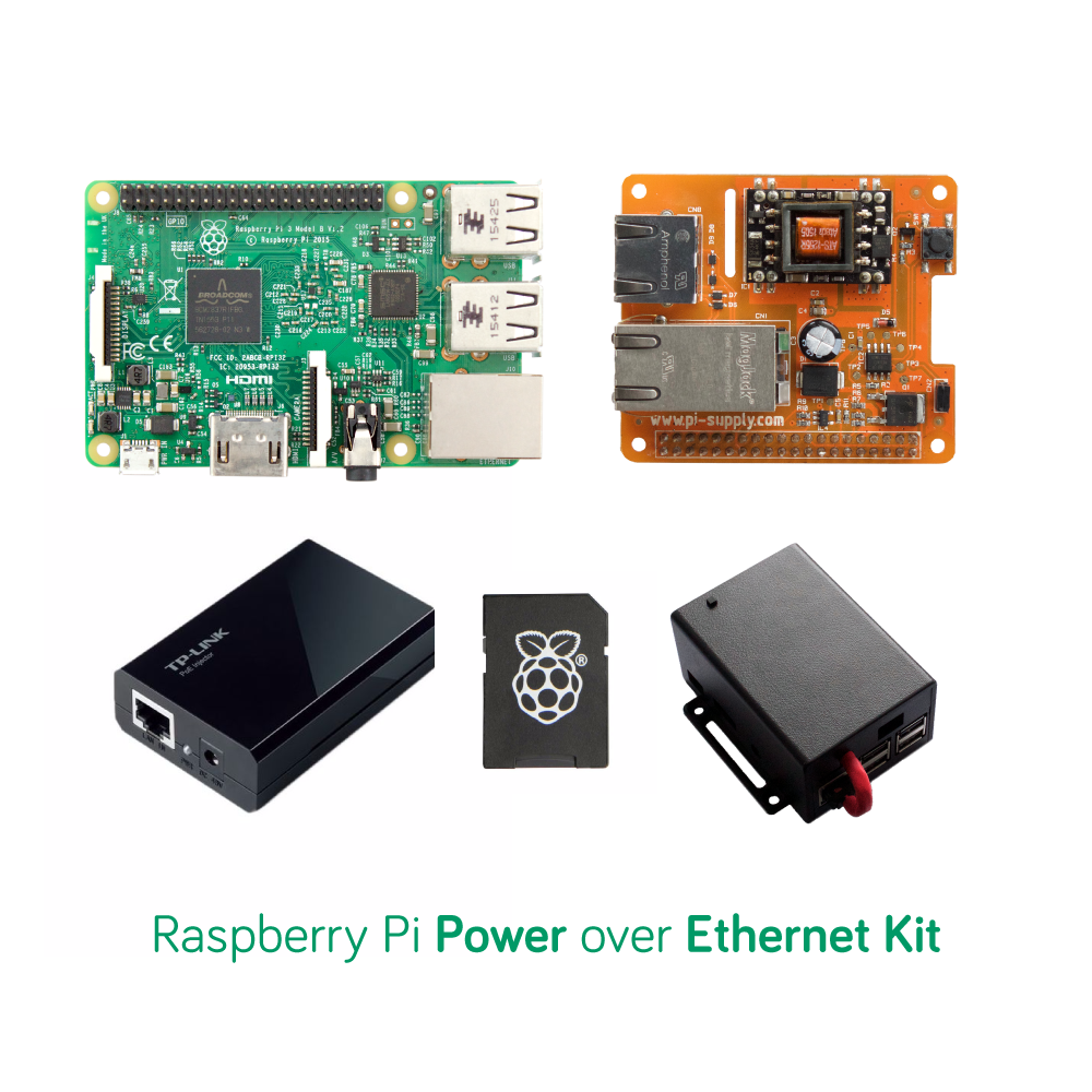 Pi PoE Switch HAT Raspberry Pi Kit