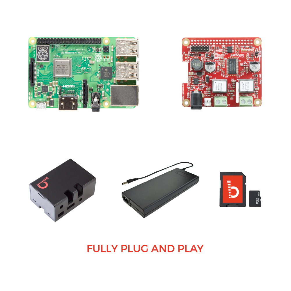 JustBoom Amp HAT Kit for Raspberry Pi