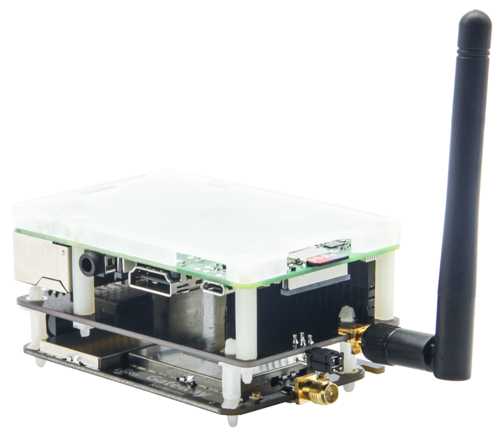 RAK831 LoRa/LoRaWan Gateway Developer Kit with Raspberry Pi and MAX-7Q GPS