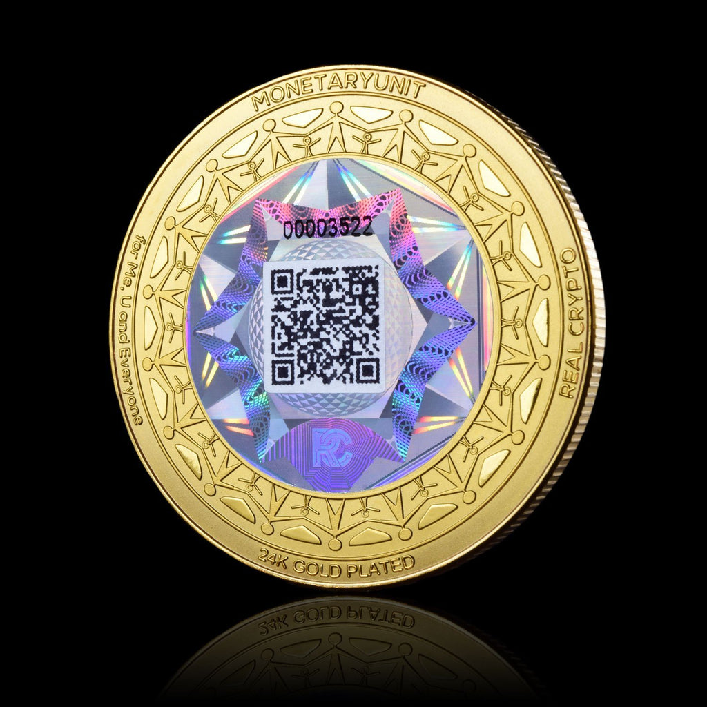MonetaryUnit Holographic Coin