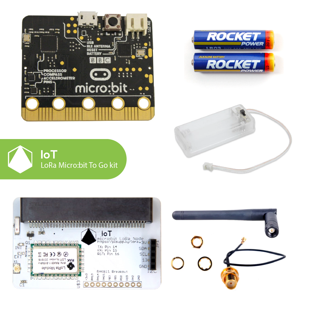 IoT micro:bit LoRa Node To Go Kit (Multi Frequency)