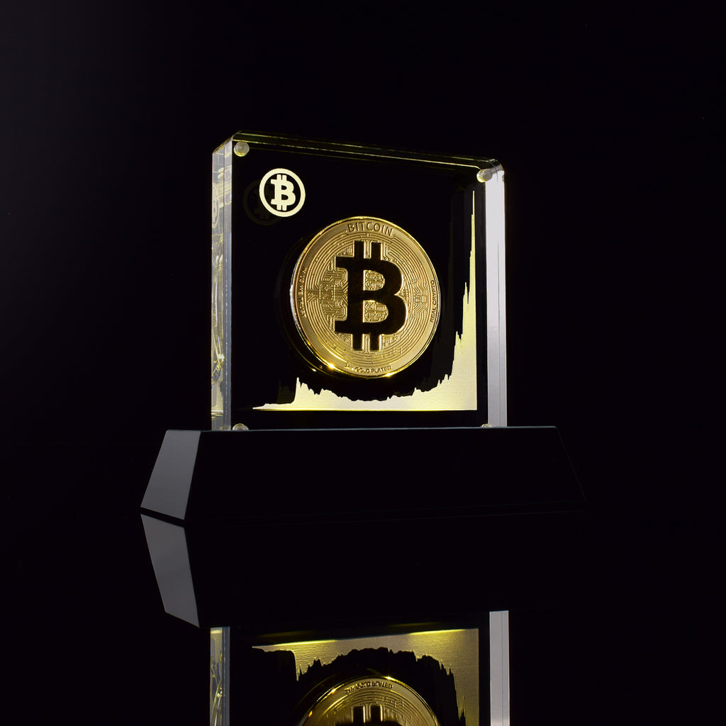 The Moon Shot Coin Display