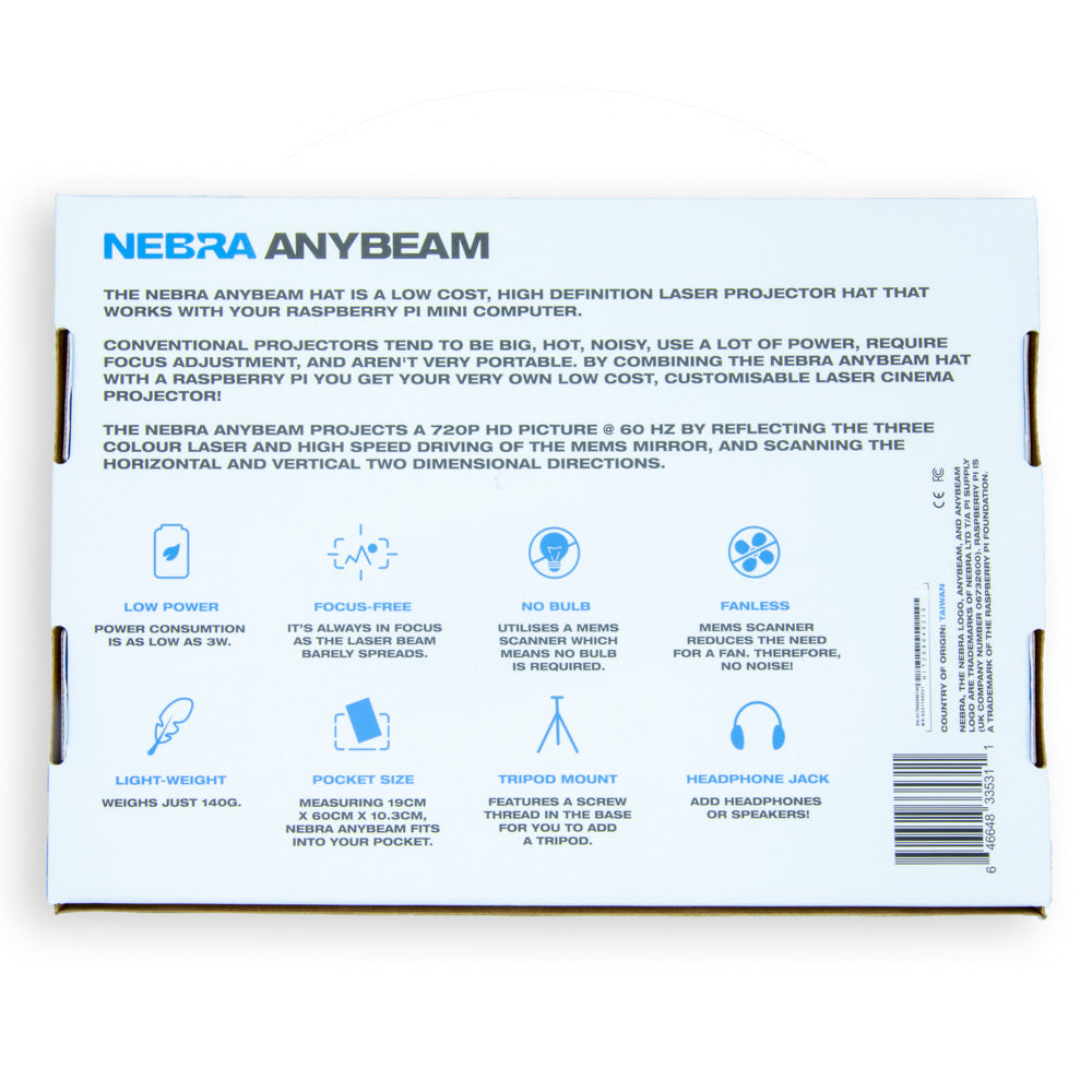 Nebra AnyBeam HAT