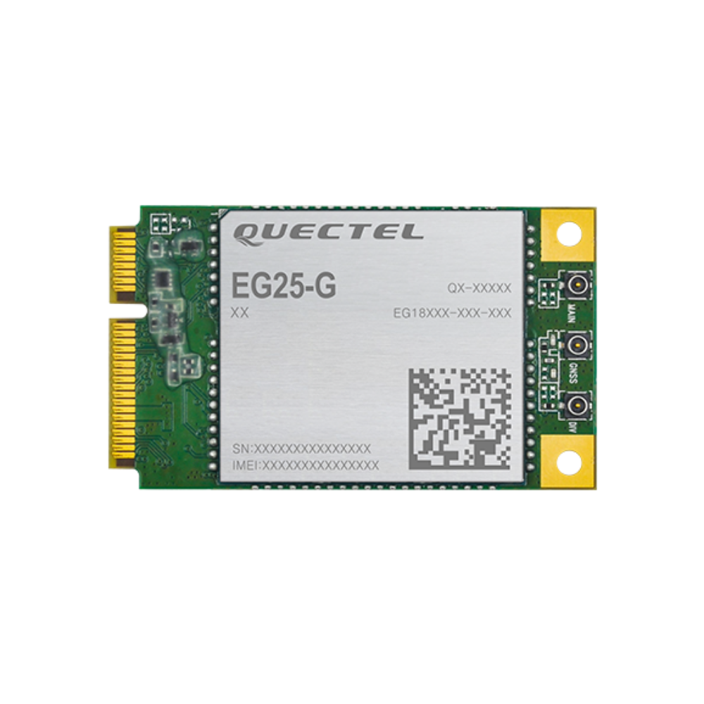 Quectel EG25-G Mini PCIe with antennas