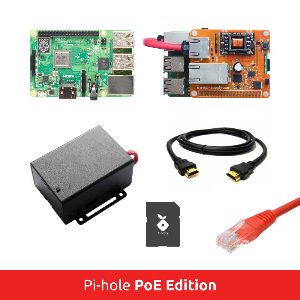 Pi-hole PoE Edition - The Network-Wide Ad Blocker