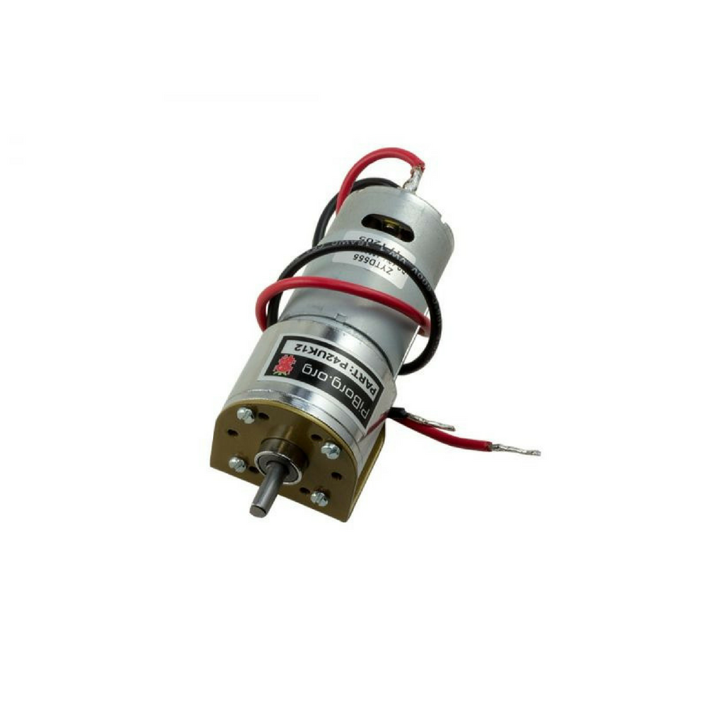 PiBorg Motor 12V 450RPM - 42mm