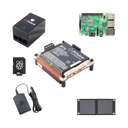 PiJuice Solar To Go Kit - (UPS) Uninterruptible Power Supply and Solar Power management for Raspberry Pi
