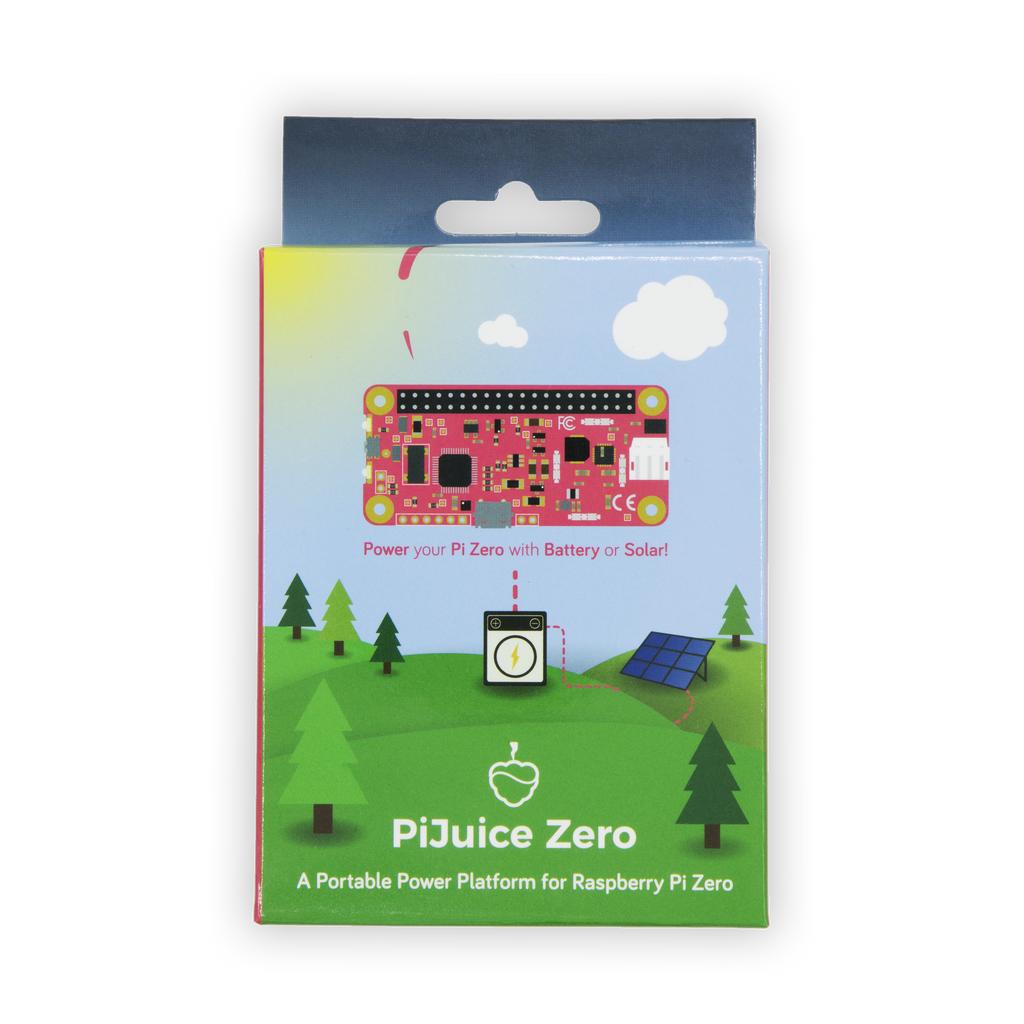 PiJuice Zero - An Uninterruptible Power Supply & Rechargeable Battery Solution for Raspberry Pi Zero