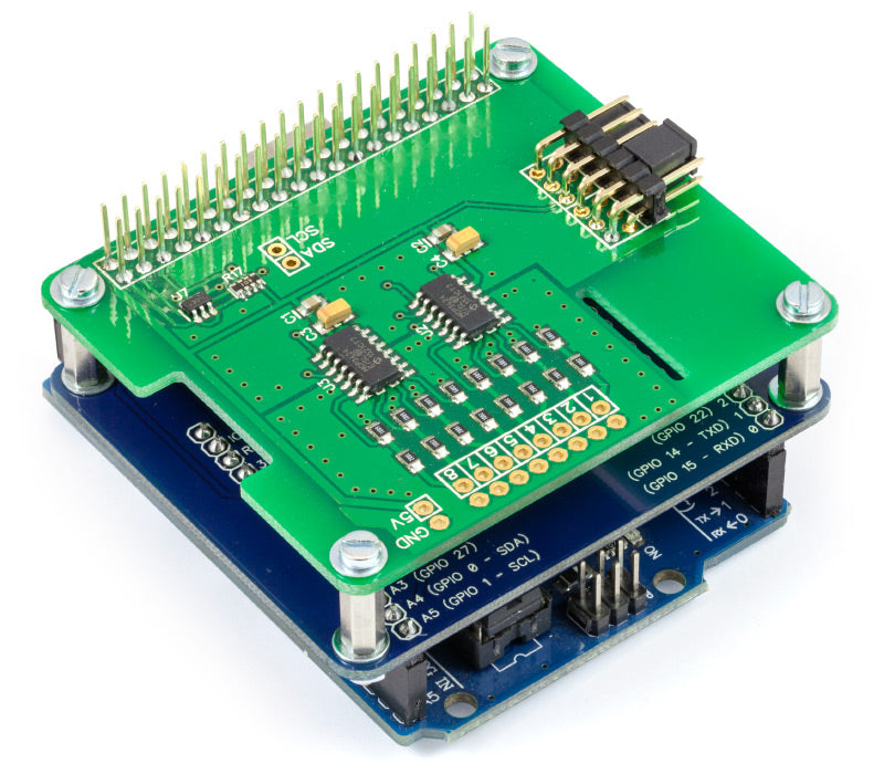 Pi Supply Arduino Uno to Raspberry Pi Adapter