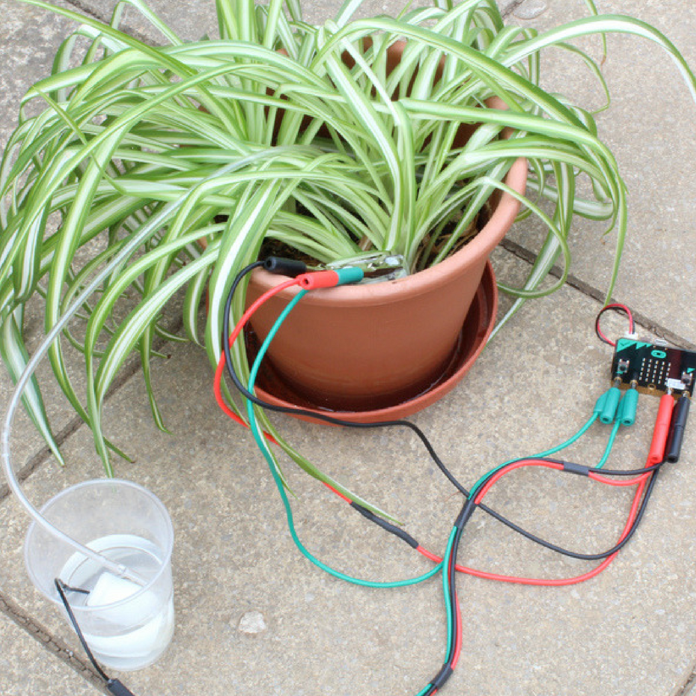 Plant Watering Kit for micro:bit
