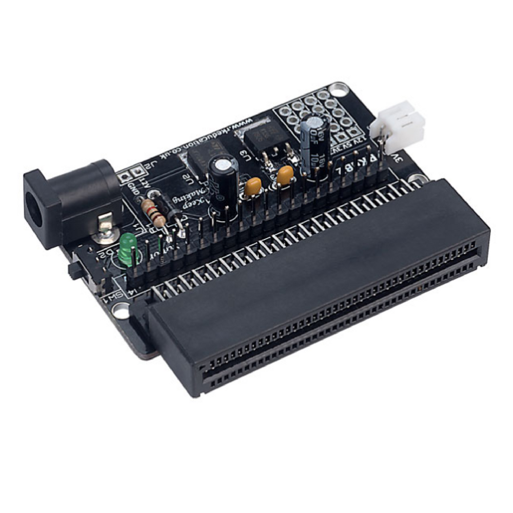 Powered Edge Connector Breakout Board for micro:bit - Self Build Kit
