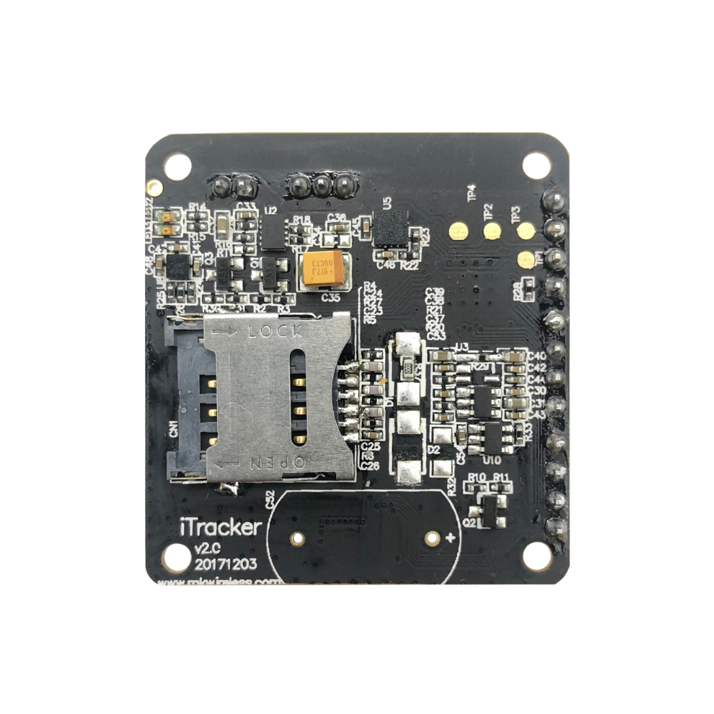 RAK8211-NBS iTracker NB-IoT Tracker Module (BC95 and nRF52832 based) with  NBIoT, BLE 5, GPS and Triaxial Acceleration Sensor - supports global