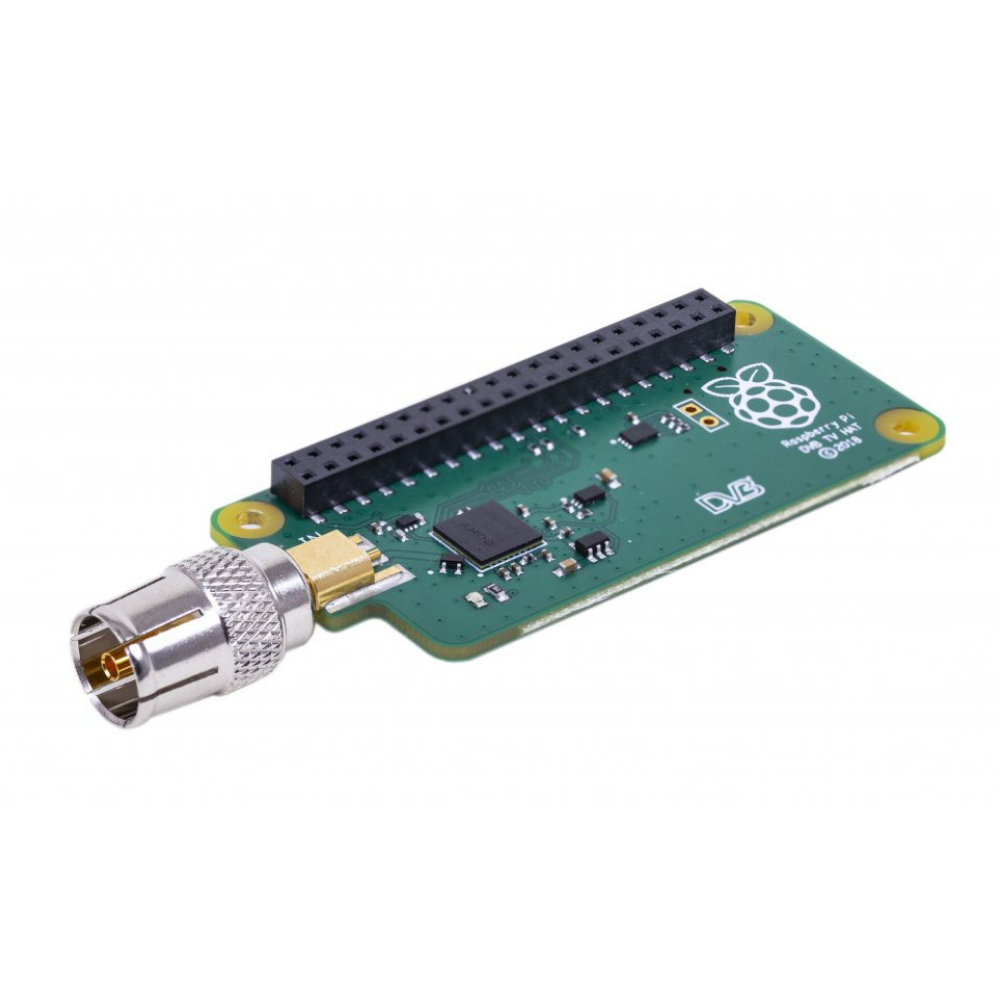 Raspberry Pi TV HAT (DVB-T & DVB-T2 uHAT)