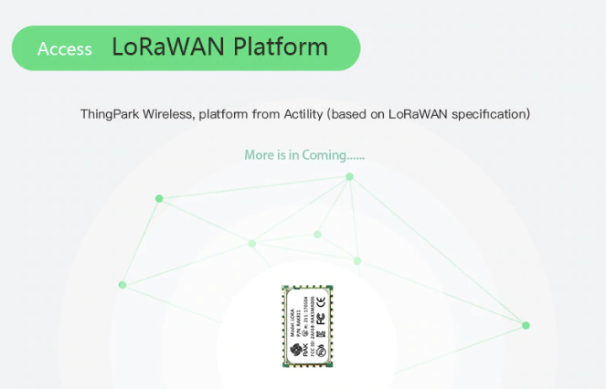 RAK811 LoRa / LoRAWAN module (based on SX1276) 868/915MHz up to 3km range