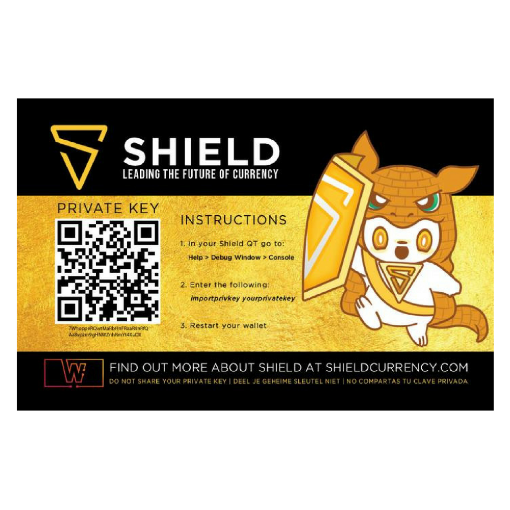 Shield Cold Storage Card (Guardian Edition)