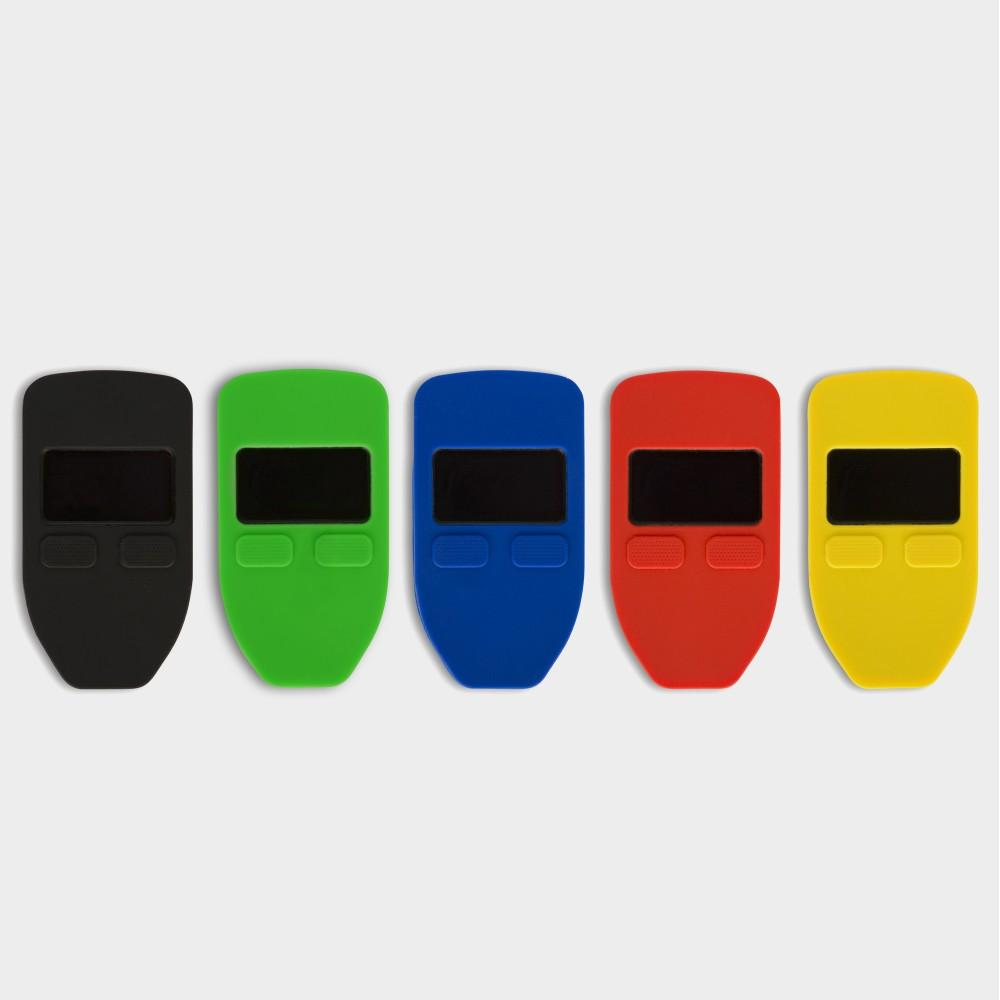 CVER: Silicone Protective Case for TREZOR Hardware Wallet