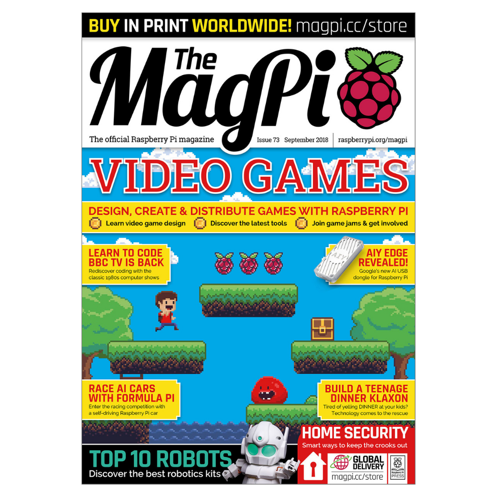 The MagPi Raspberry Pi Magazine - Issue 73