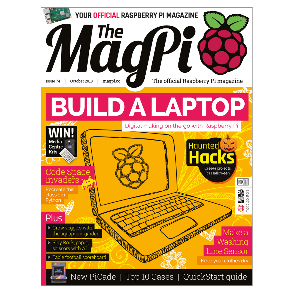 The MagPi Raspberry Pi Magazine - Issue 74