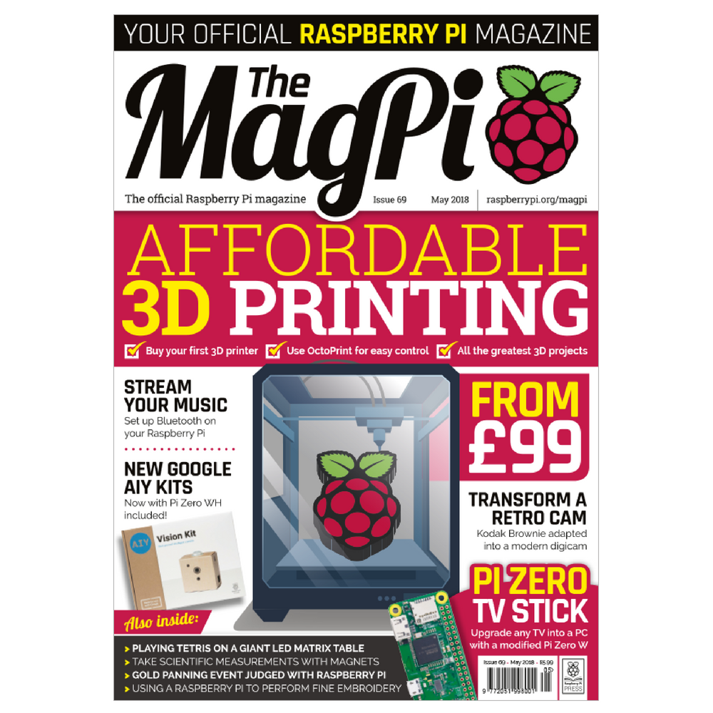The MagPi Raspberry Pi Magazine – Issue 69