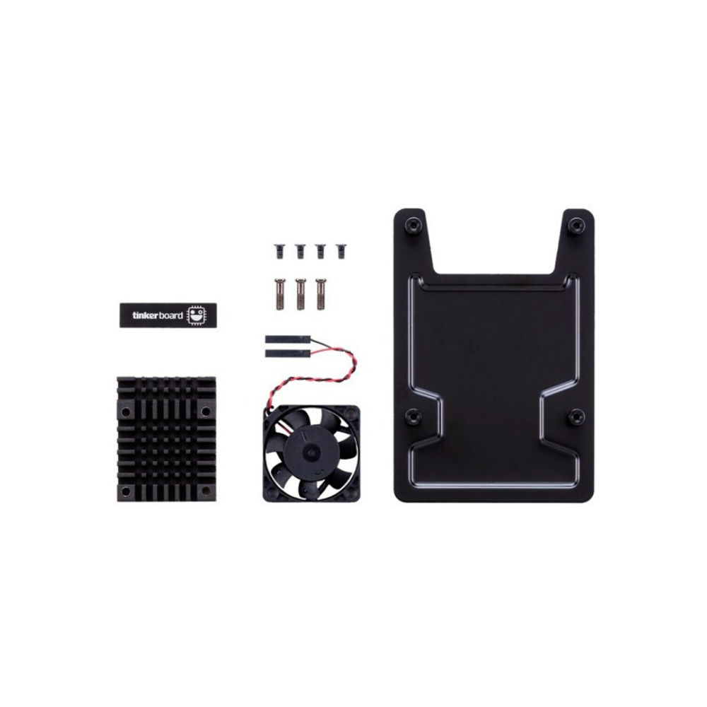 ASUS Tinker Board Open Case DIY Kit with high-speed fan and strong backplate