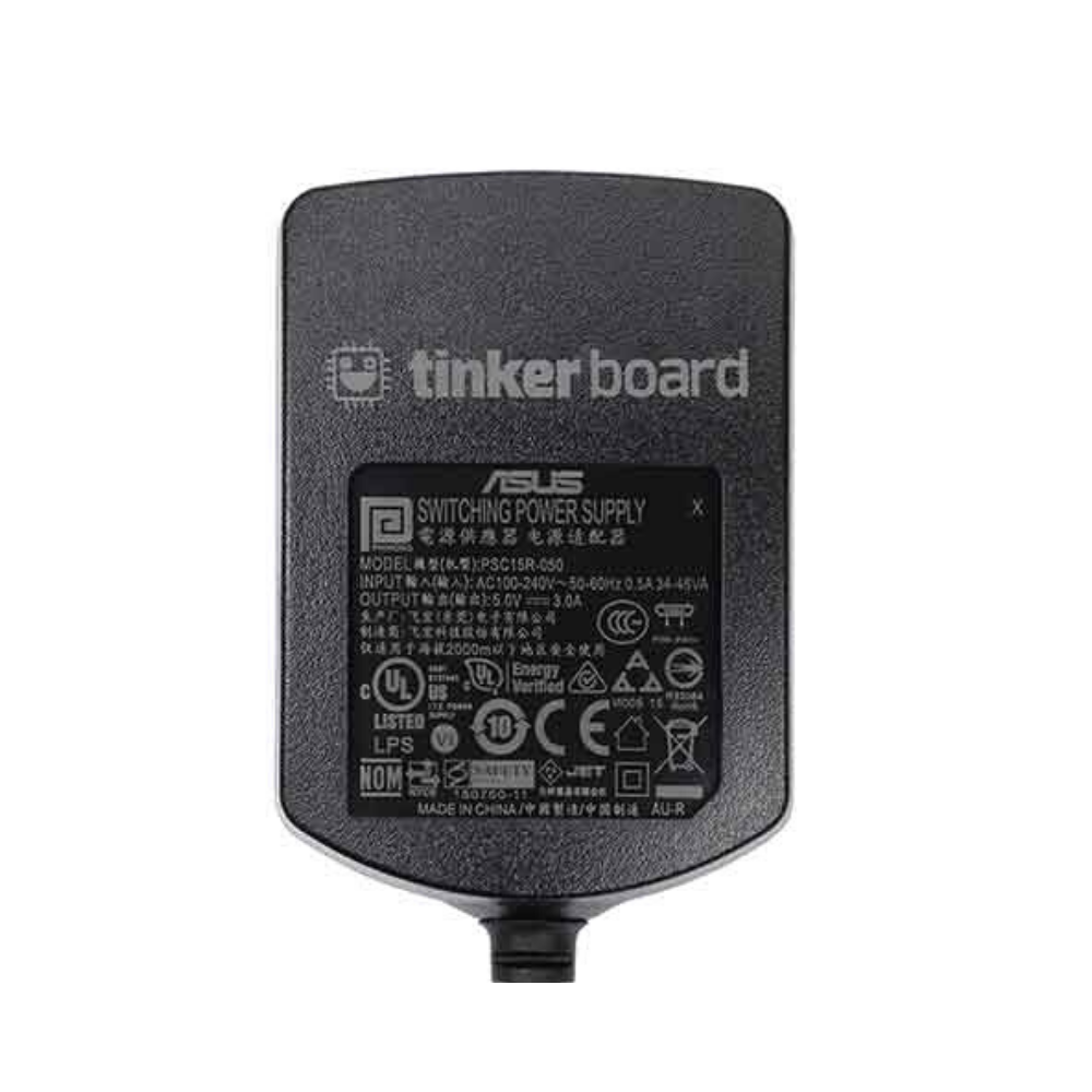 ASUS Tinker Board Power Supply - EU/UK Plugs