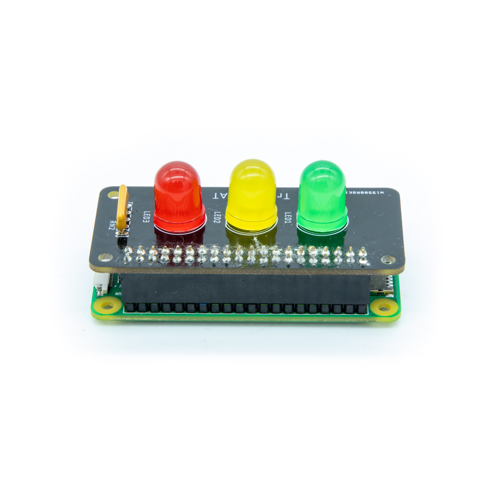 Traffic pHAT for Raspberry Pi Zero