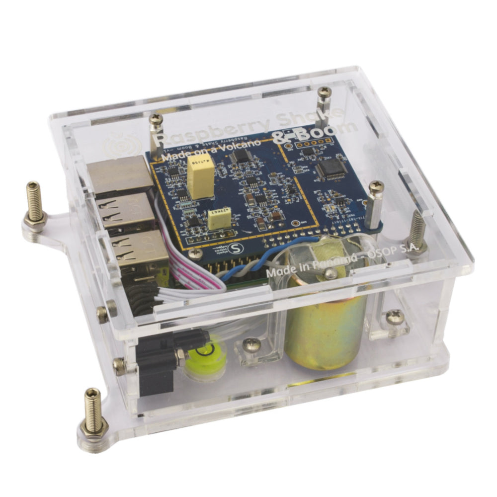 Turnkey IoT Atmospheric Infrasound Monitor for Raspberry Pi | RS&BOOM