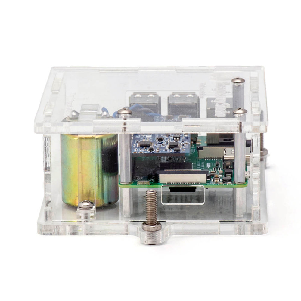 Turnkey IoT Home Earthquake Monitor for Raspberry Pi | RS 1D