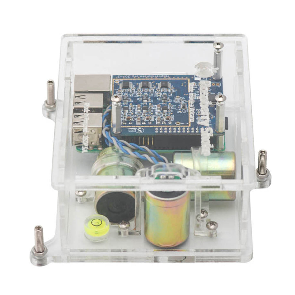 Turnkey IoT Home Earthquake Monitor for Raspberry Pi | RS 3D