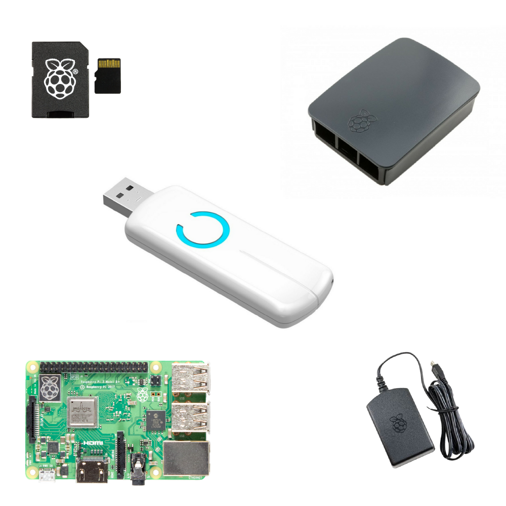 Z-Stick Gen5 Z-Wave Plus USB Stick Raspberry Pi Bundle