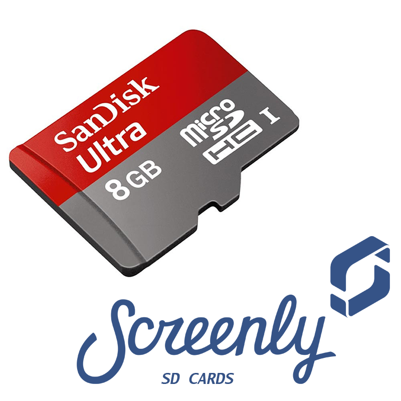 Screenly SD Card