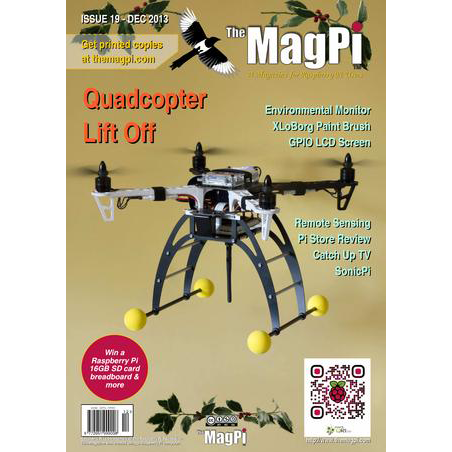 Issue 19 of The MagPi Magazine