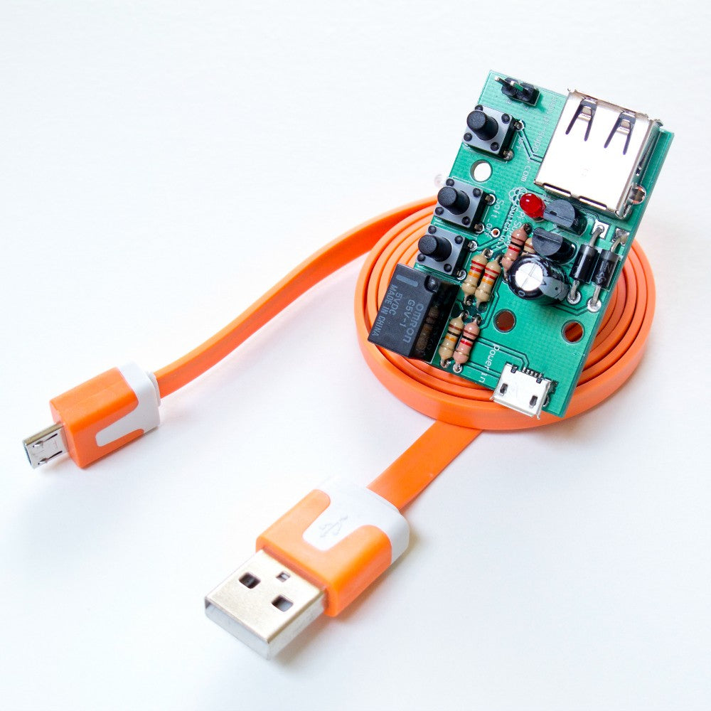 Pi Supply Switch On Off Power For Raspberry Cut Usb Cable And Sold It Wires Board Breakout