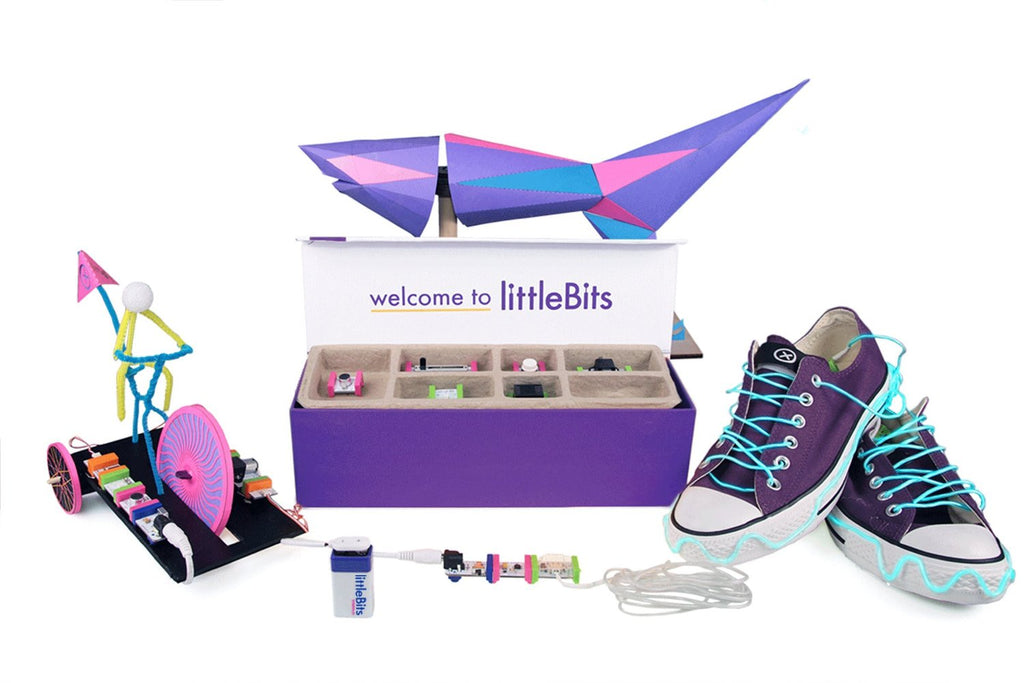 littleBits Deluxe Kit Project Ideas