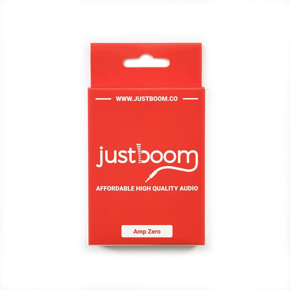 JustBoom Amp Zero pHAT Packaging
