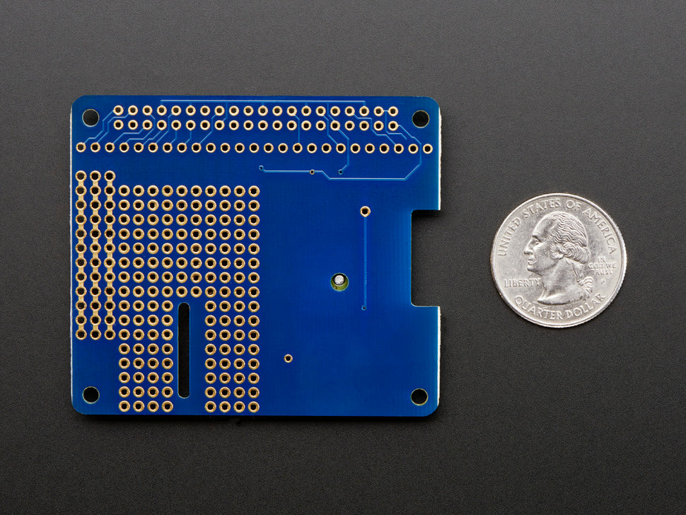 Adafruit Ultimate GPS HAT Mini Kit Bottom