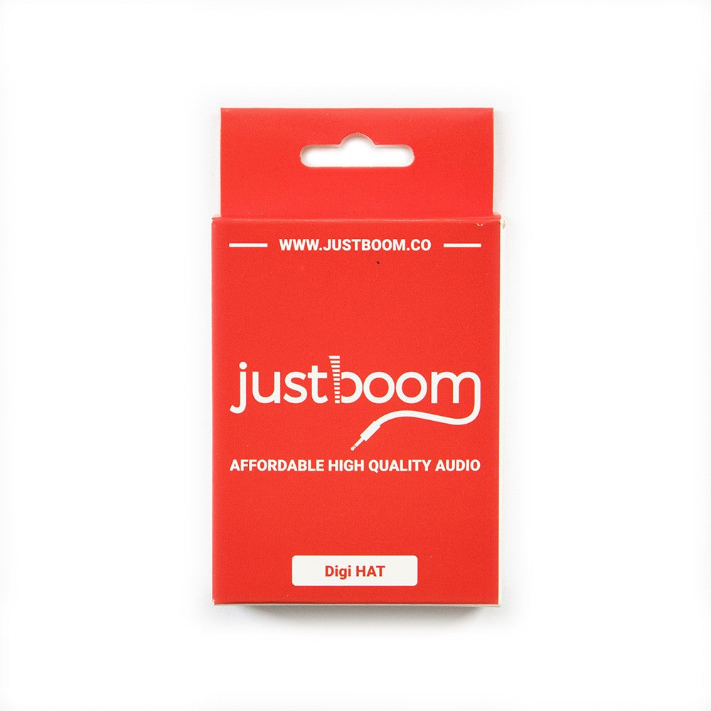 JustBoom Digi HAT Packaging