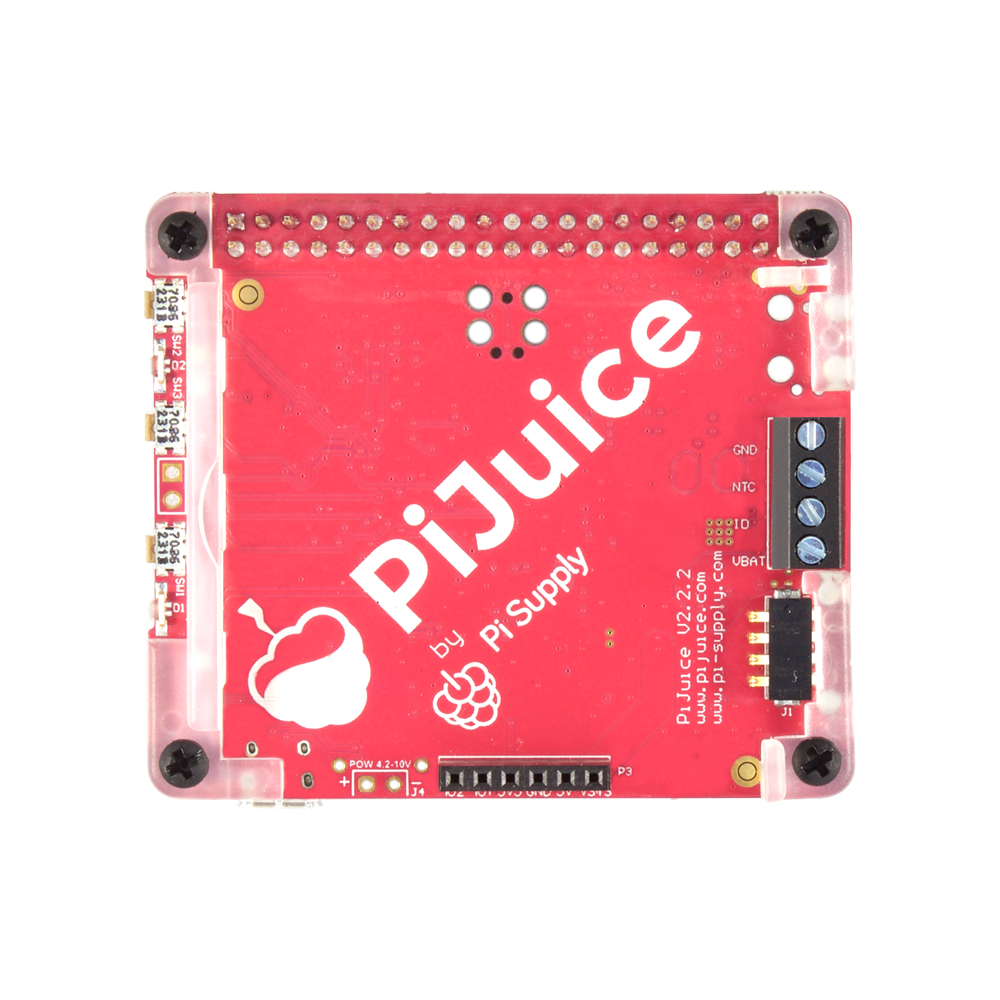 PiJuice uninterruptible power supply for Raspberry Pi - PCB