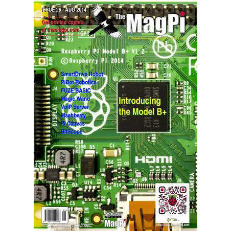 Issue 26 of The MagPi Magazine