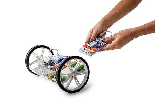 littleBits Gizmos and Gadgets Kit - Roller-Bot Project
