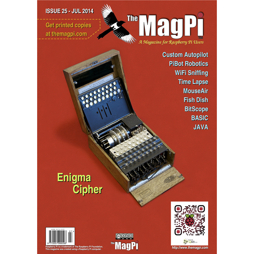 Issue 25 of The MagPi Magazine