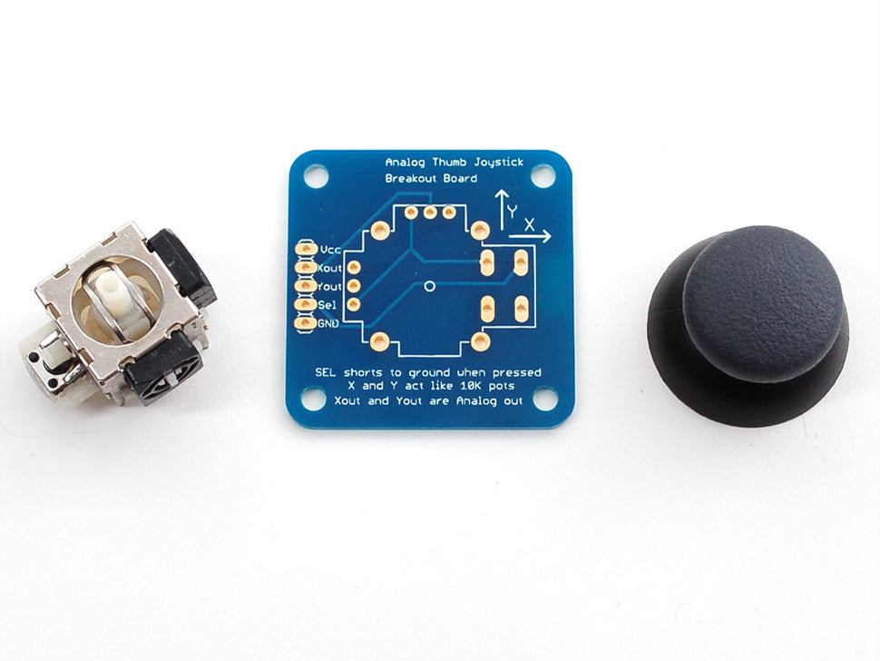 2-axis Thumb Joystick Parts