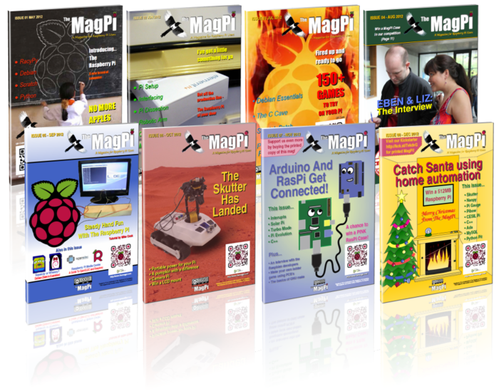 The MagPi Magazine - Issues 1 to 8