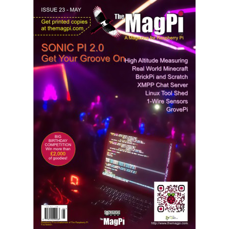 Issue 23 of The MagPi Magazine