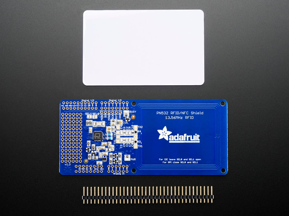 Adafruit NFC/RFID Controller Shield and Parts
