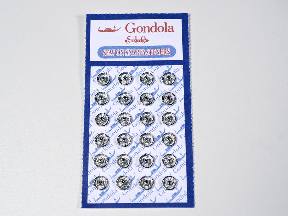 Adafruit Sewable Snaps - 5mm Diameter - Card of 24